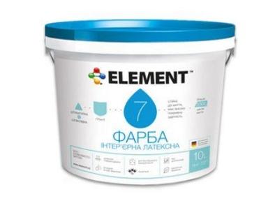 Краска 7 база А (белая) 10л ELEMENT
