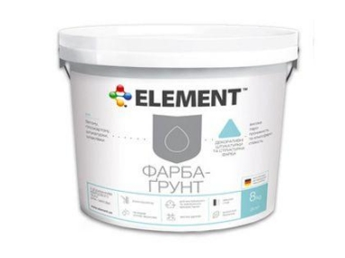 Грунт-краска 8кг ELEMENT