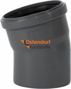 Колено канализационное Ø110мм 15° Safe OSTENDORF