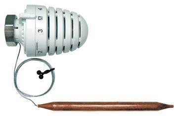 Термостатическая головка ГЕРЦ с накладным или погружным датчиком 1 9421 36 HERZ