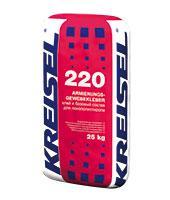 Клей для пенопласта  220 KREISEL 25 кг