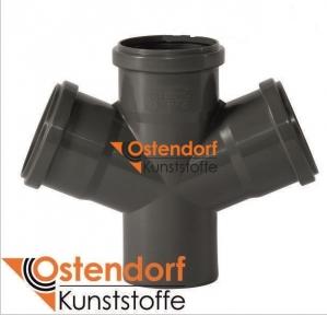 Крестовина внутренней канализации 110/110/110х67° Safe OSTENDORF