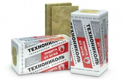 Теплоизоляционная базальтовая минеральная вата ТЕХНОФАС ТЕХНОНИКОЛЬ 145кг/м3