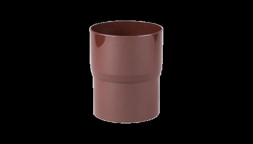 Соединитель водосточной трубы ⌀75 мм PROFIL
