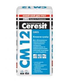 Клей для плитки CM 12 25кг CERESIT