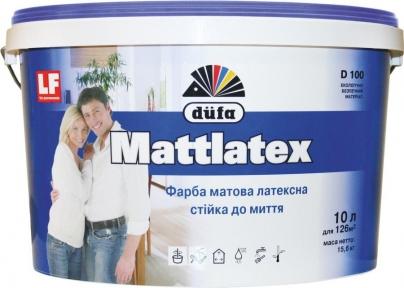 Краска Mattlatex D100 DUFA 10л