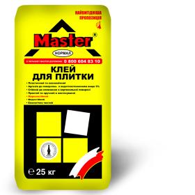 Клей для плитки НОРМАЛ  МАСТЕР 25 кг