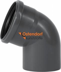 Колено канализационное Ø10мм 67° Safe OSTENDORF