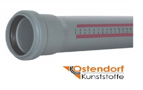 Труба канализационная внутренняя Ø40мм OSTENDORF