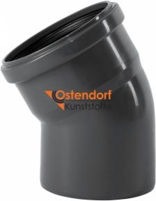 Колено канализационное Ø110мм 30° Safe OSTENDORF