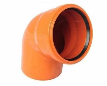 Колено наружной канализации 160х67° Safe OSTENDORF