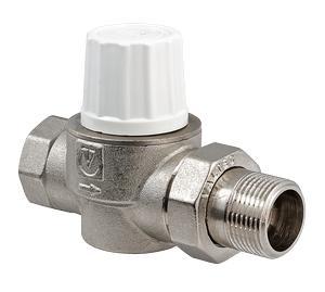 Клапан радиаторный прямой повышенной пропускной способности VT.034.N VALTEC