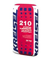 Клей для пенопласта 210 25 кг KREISEL