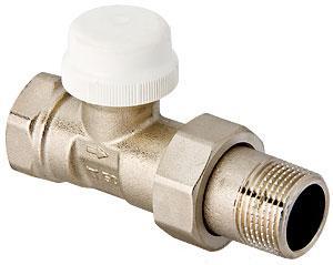 Клапан радиаторный термостатический прямой VT.032.N