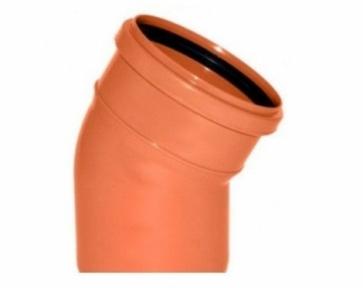 Колено наружной канализации 200х30° Safe OSTENDORF