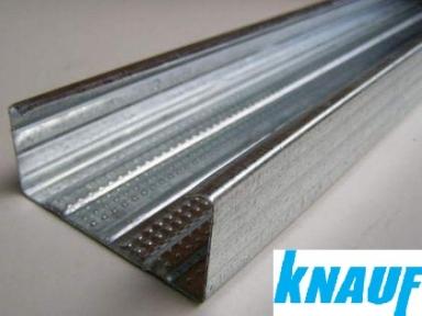 Профиль стоечный для гипсокартона ЦД (CD) 0,6мм KNAUF