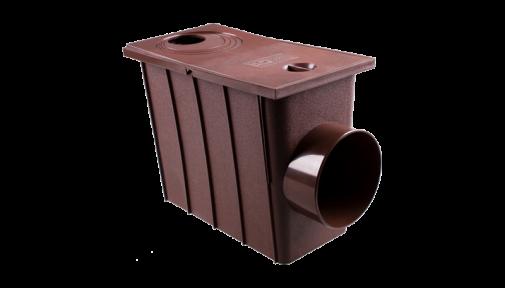 Колодец с боковым сливом ⌀100/75 мм PROFIL