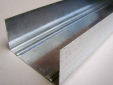 Профиль для гипсокартона направляющий УВ (UW) 0,5мм