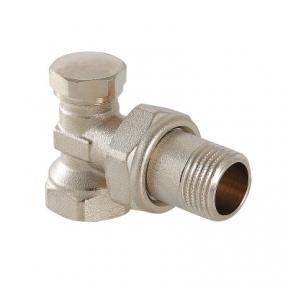 Клапан радиаторный настроечный угловой VT.019 VALTEC